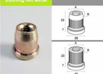 Bushing-Nut-Metal